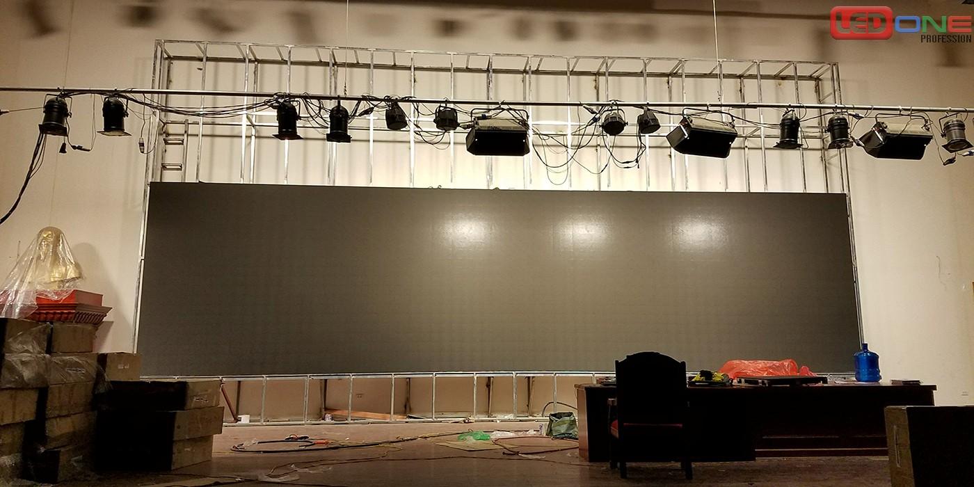 Quá trình thi công lắp đặt màn hình LED