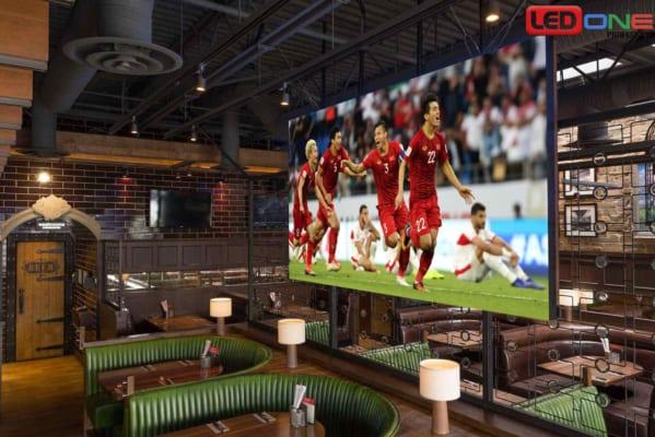 Giải pháp màn hình LED cho quán Cafe