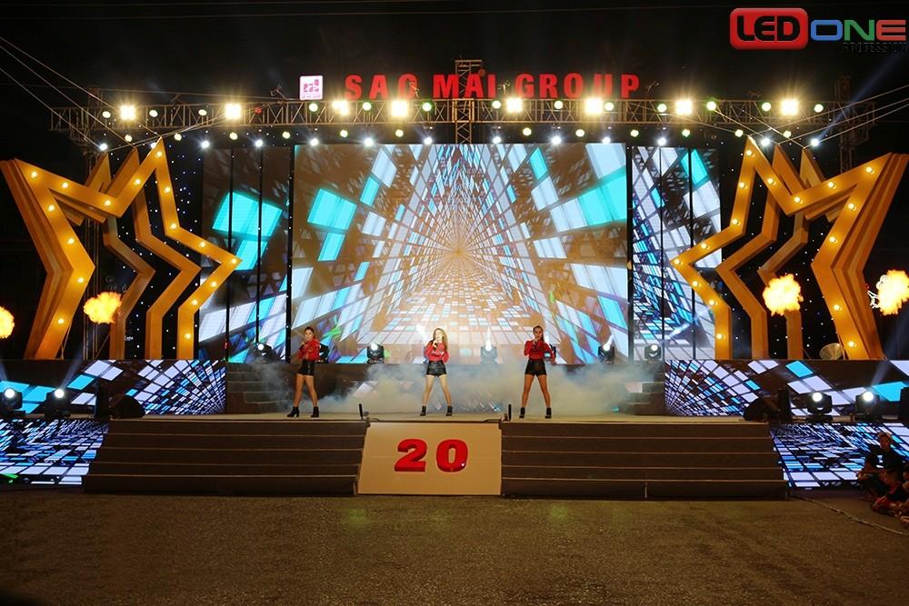 Màn hình LED tạo sự chuyên nghiệp và những hiệu ứng ấn tượng cho sân khấu