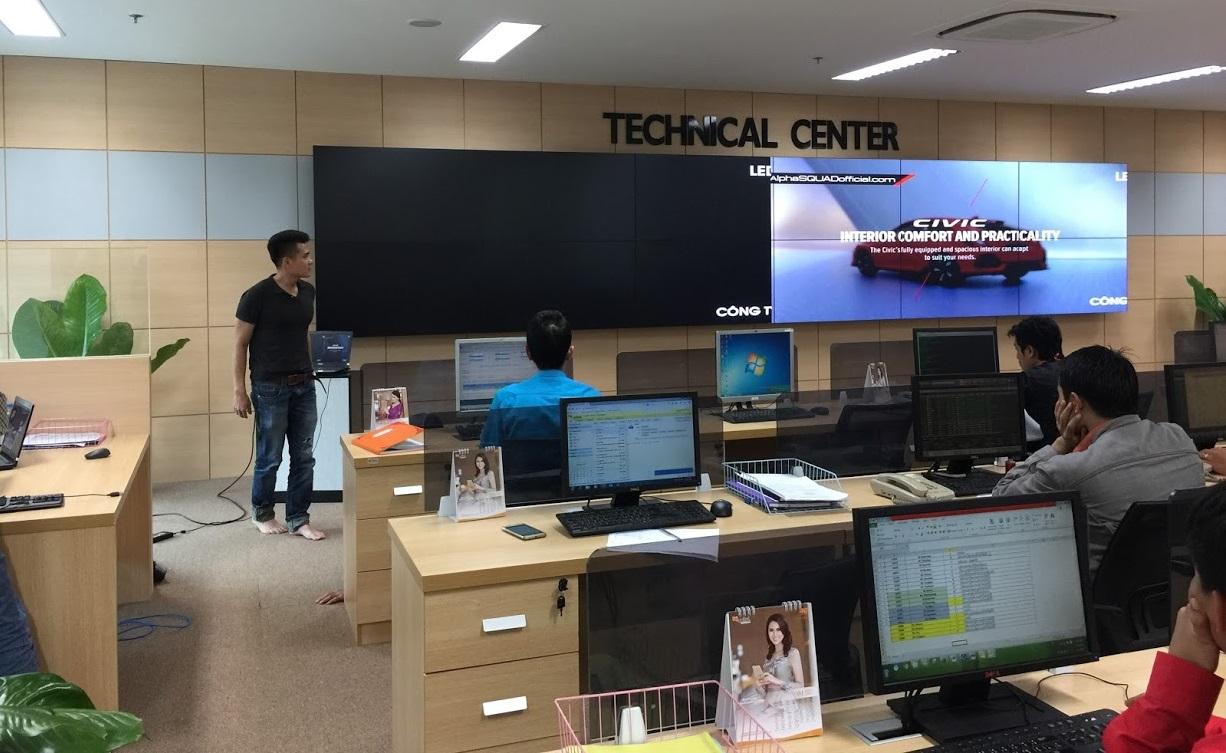 Báo giá màn hình ghép videowall