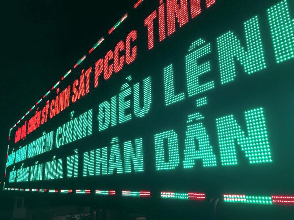 Bảng LED ma trận quảng cáo