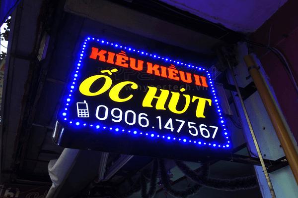 Biển quảng cáo LED được ứng dụng rộng rãi