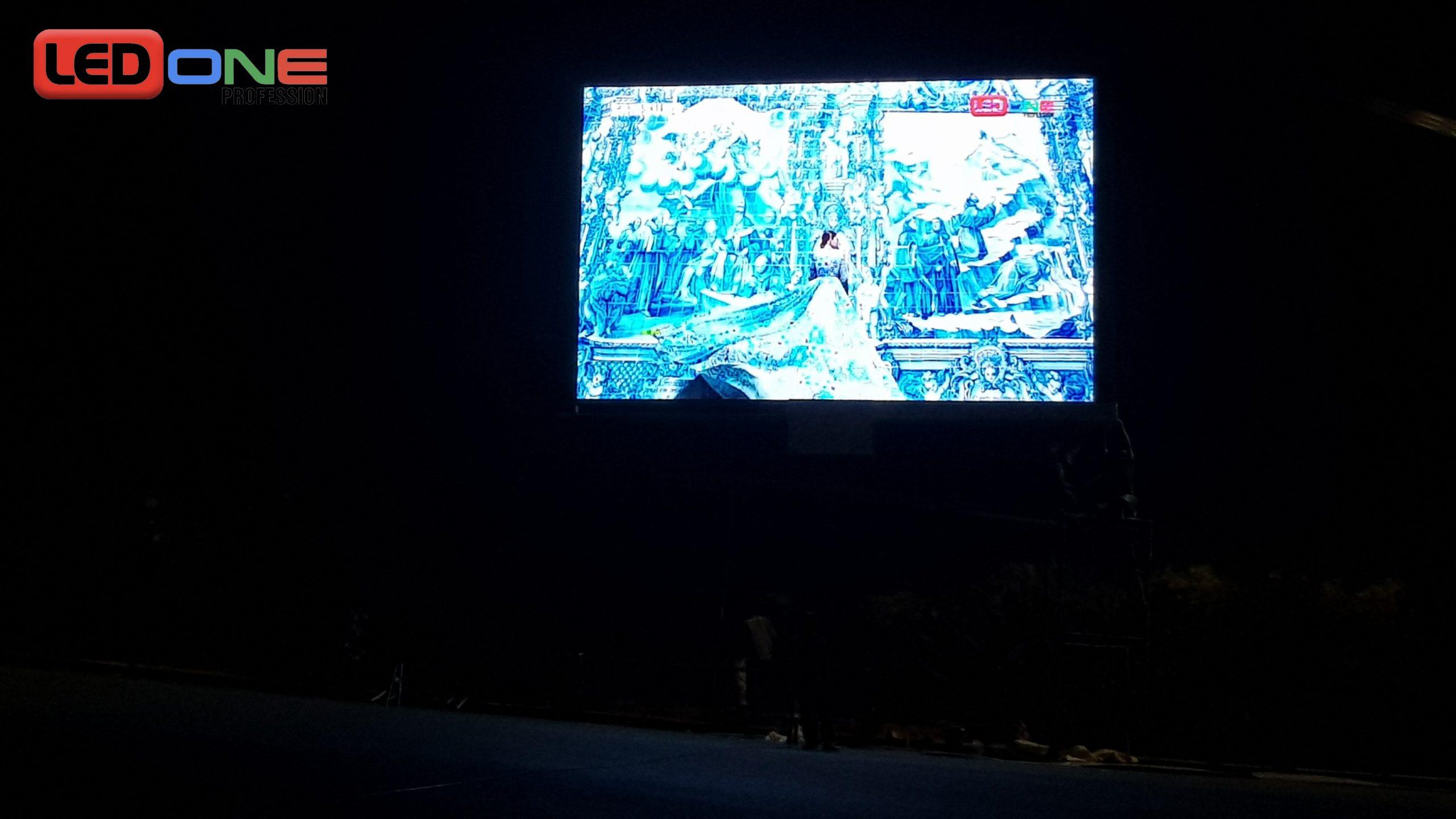 Công trình màn hình LED P6.67 ngoài trời tại Vinpearl Nha Trang