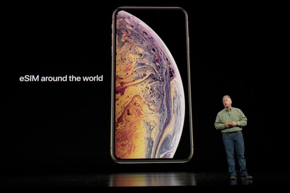 eSIM trên iphone