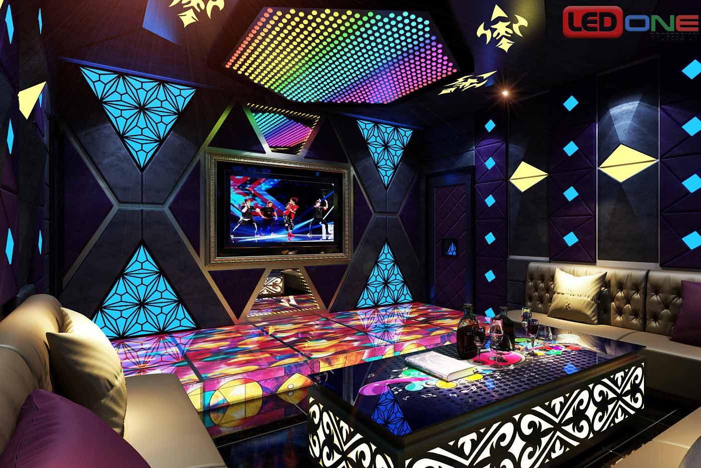 Màn hình LED cho quán Bar, karaoke cho không gian quán đẹp và đẳng cấp
