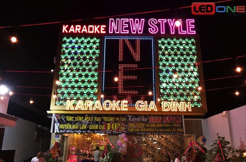 Màn hình LED Led ngoài trời cho cho quán karaoke