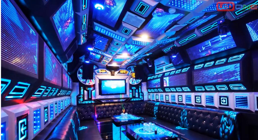 Màn hình LED cho quán Bar, karaoke