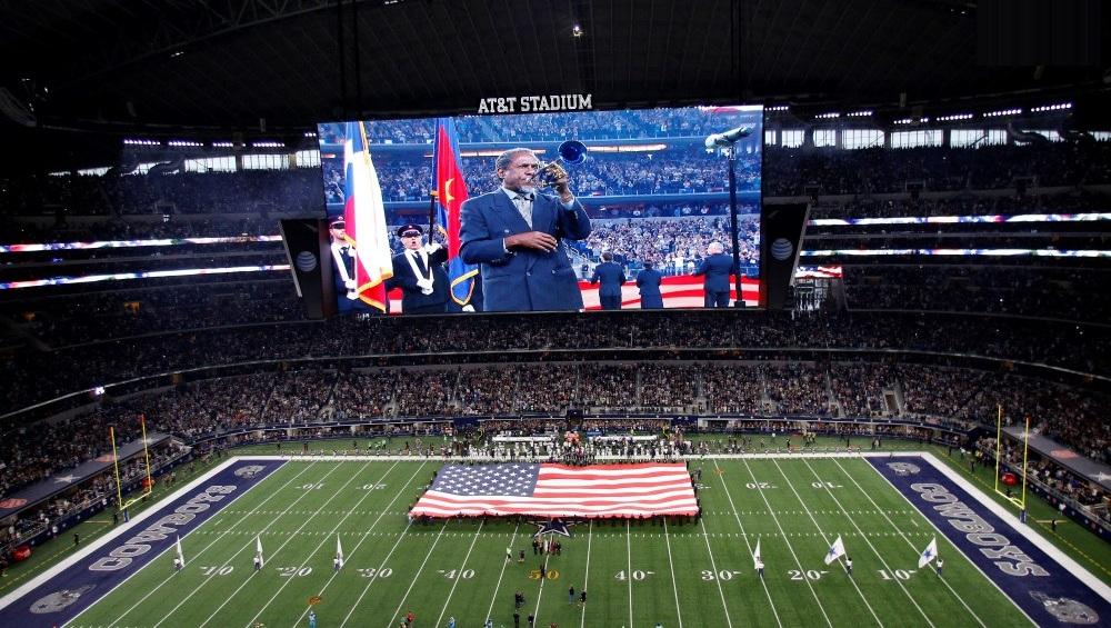 Giải pháp màn hình LED cho sân vận động, nhà thi đấu