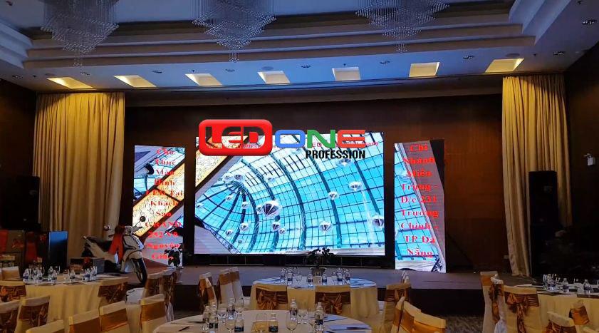 Màn hình Led thi công tại khách sạn Đà Nẵng