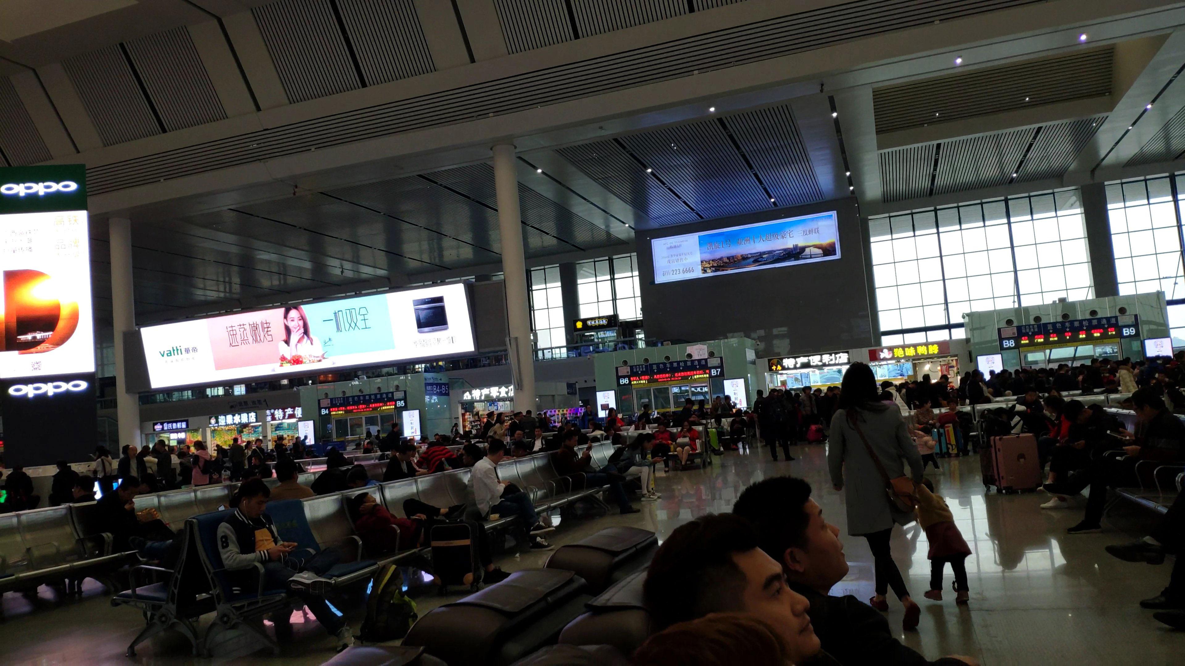 Các công trình màn hình led tại sân bay thực tế