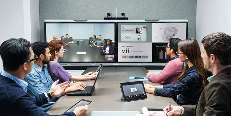 Cách lựa chọn màn hình hiển thị họp hội nghị truyền hình