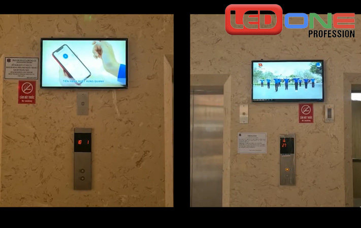 màn hình lcd 32 inch treo tường tại Oshimi Phú Mỹ