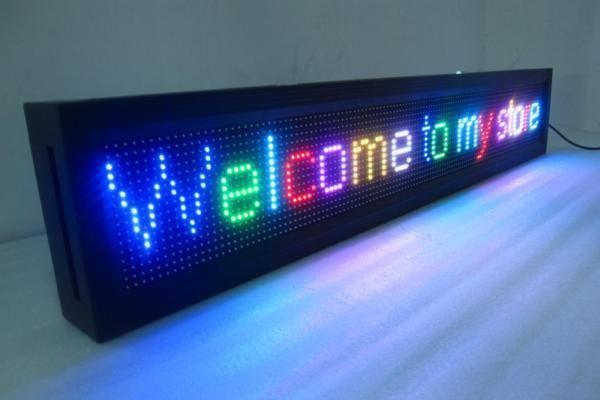 LED chạy chữ có thể thay đổi và cập nhật nội dung một cách dễ dàng