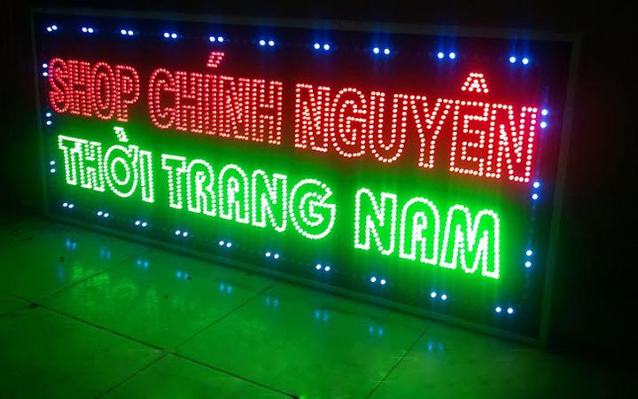 LED chữ nổi