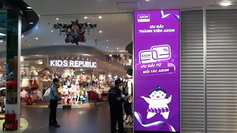 màn hình led p2 aeon mall hải phòng