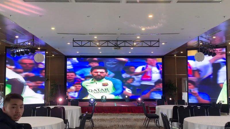 màn hình LED P2 tại Bim Group Hạ Long