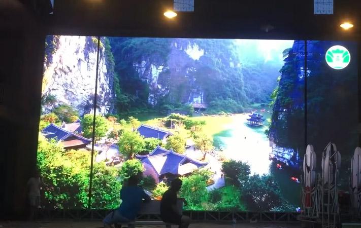 thi công màn hình led 150m2 tại Lạng Sơn cho sở văn hóa