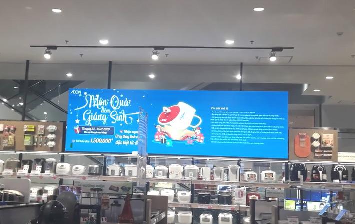 màn hình led p2.5 tại aeon mall hải phòng