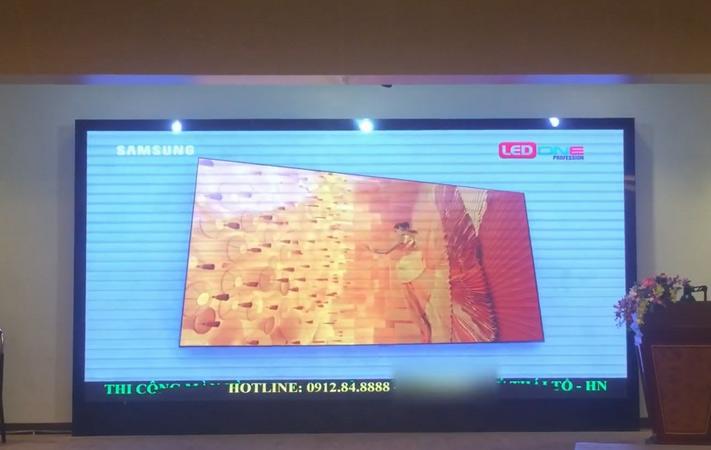 màn hình LED P2.5 tại điện lực hotel, hà nội
