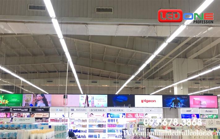 màn hình led p3 quảng cáo tại siêu thị Big C cần thơ