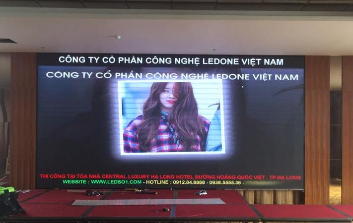 màn hình LED p3 tại khách sạn Hạ Long Central
