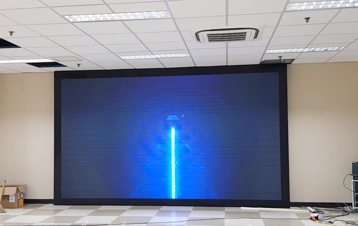 màn hình led p4 trong nhà tại KDDI Hà Nam