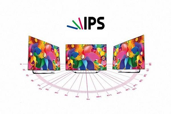 Công nghệ IPS cho hình ảnh hiển thị chất lượng, sắc nét