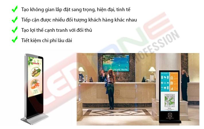 Lợi ích của màn hình LCD với doanh nghiệp