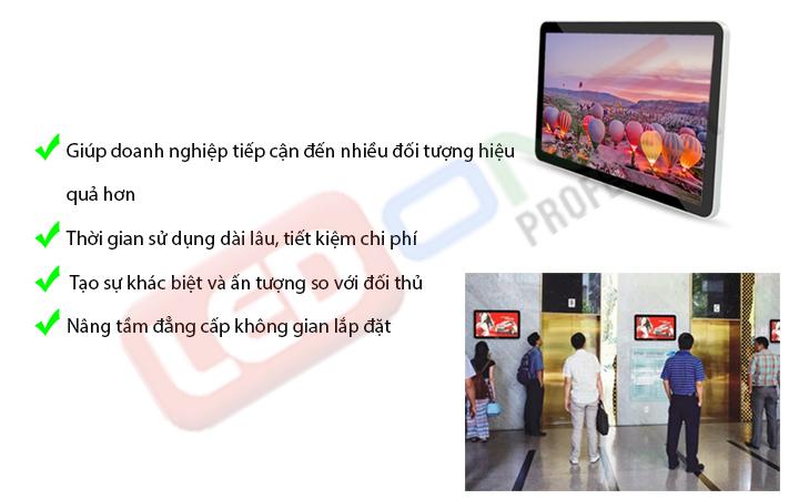 lợi ích của màn hình LCD treo tường