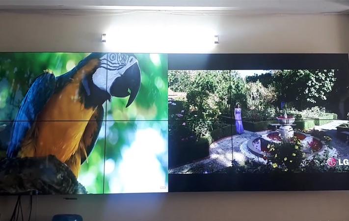 màn hình ghép 46 inch tại 360 xã đàn