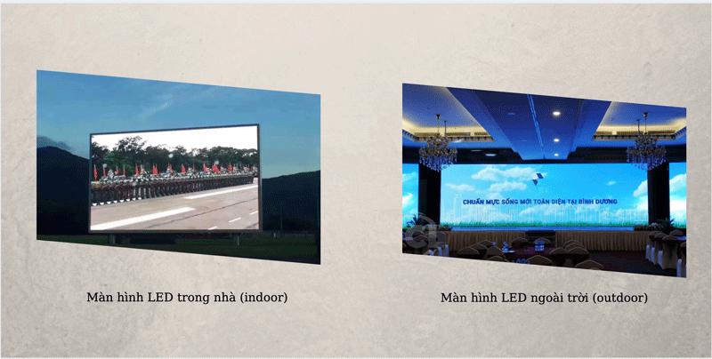 Màn hình LED có 2 loại