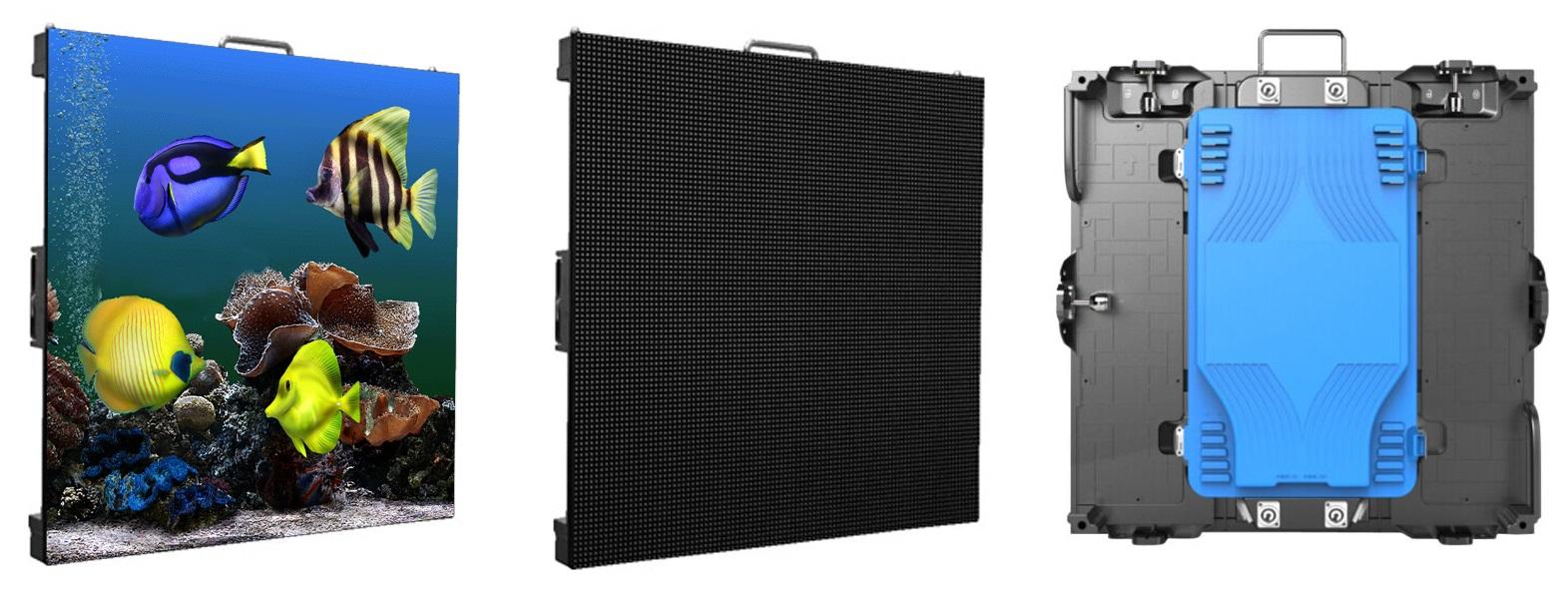 Cabinet màn hình LED P1.923 trong nhà