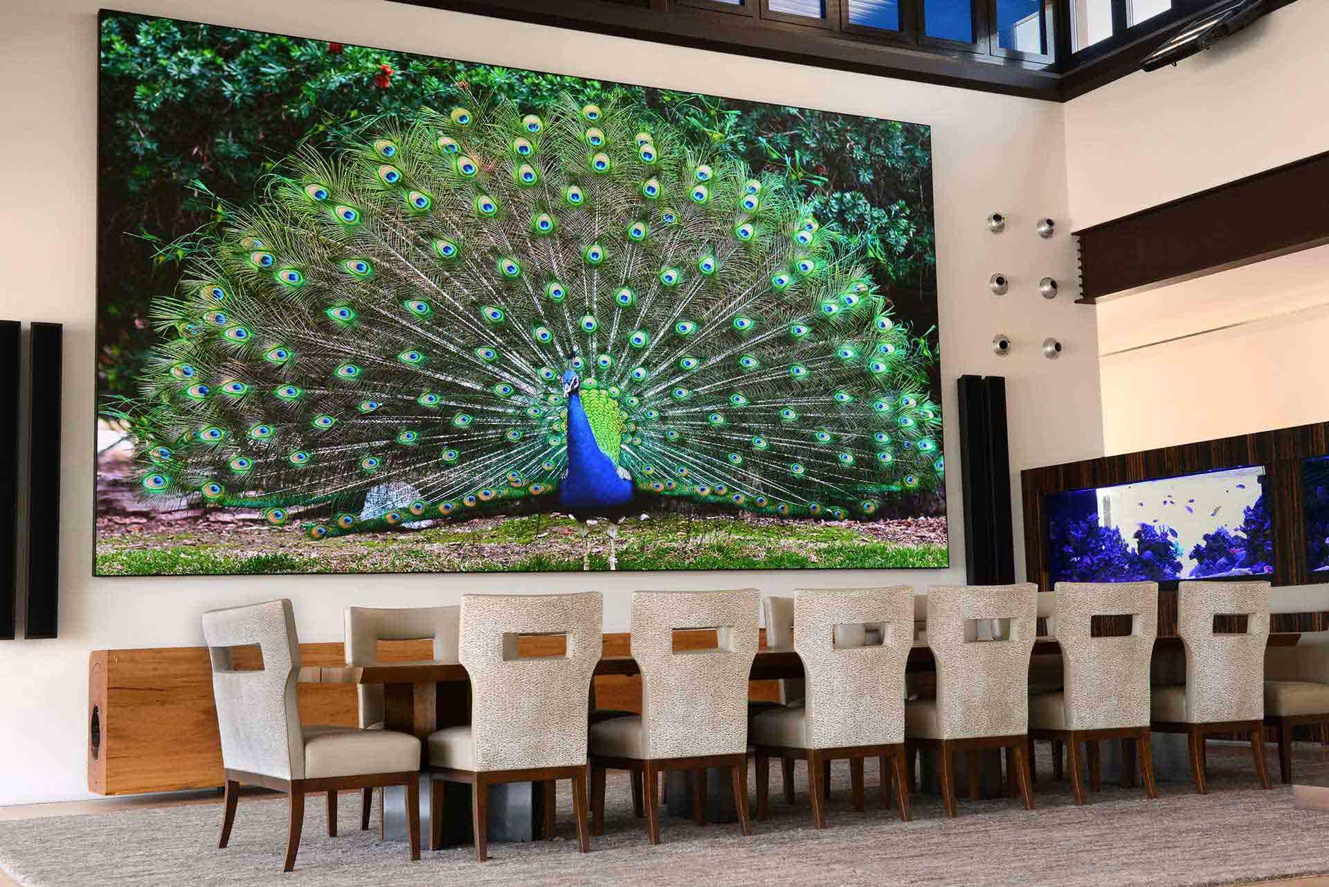 Màn hình LED P2.604 trình chiếu sắc nét với mọi không gian