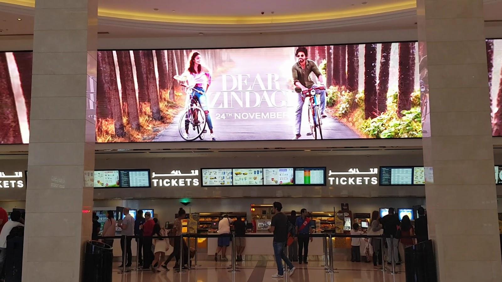 Màn hình LED P2.604 ứng dụng làm màn hình LED quảng cáo cỡ lớn