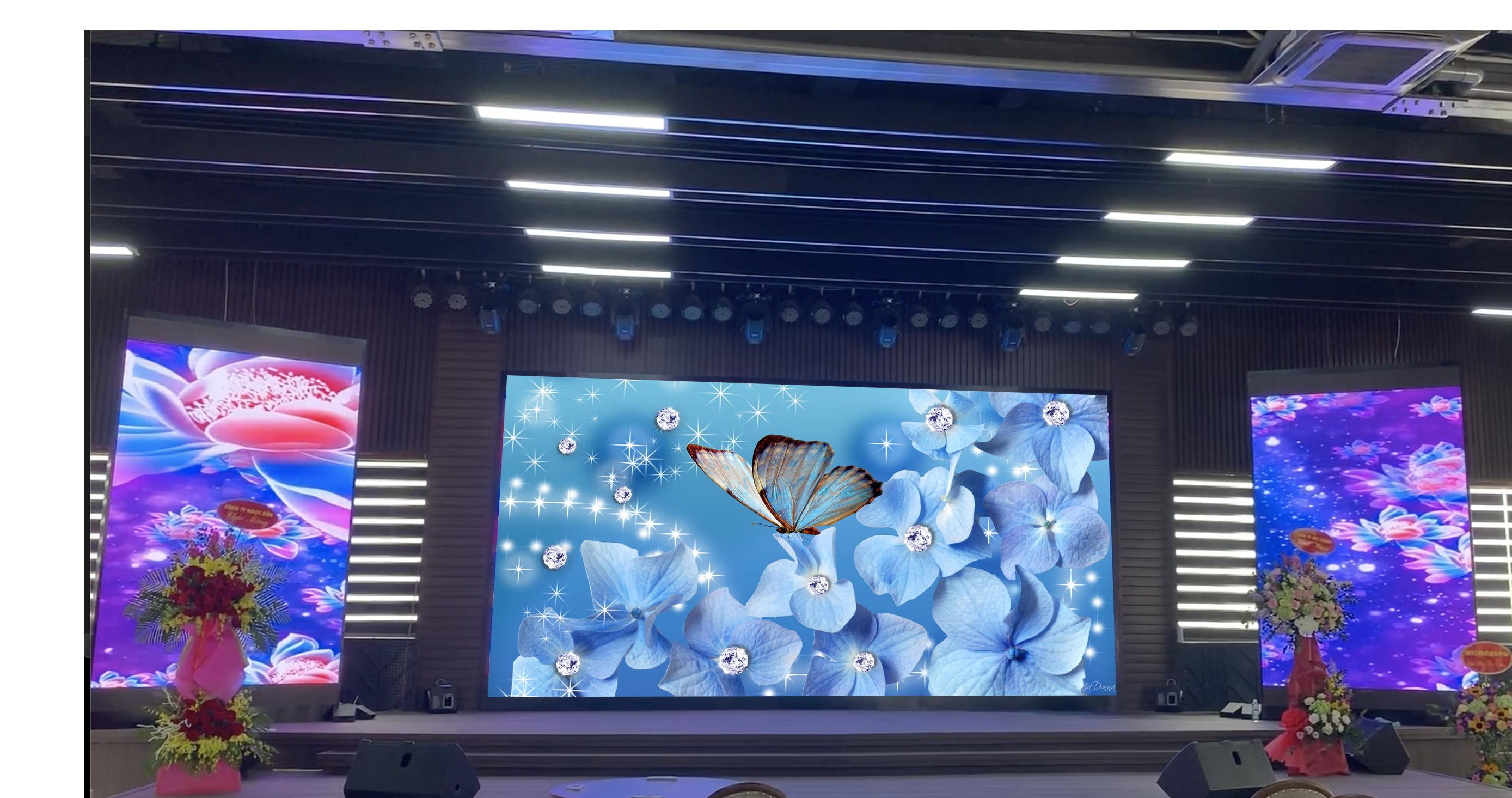 Màn hình LED P1.875 làm màn hình LED hội trường