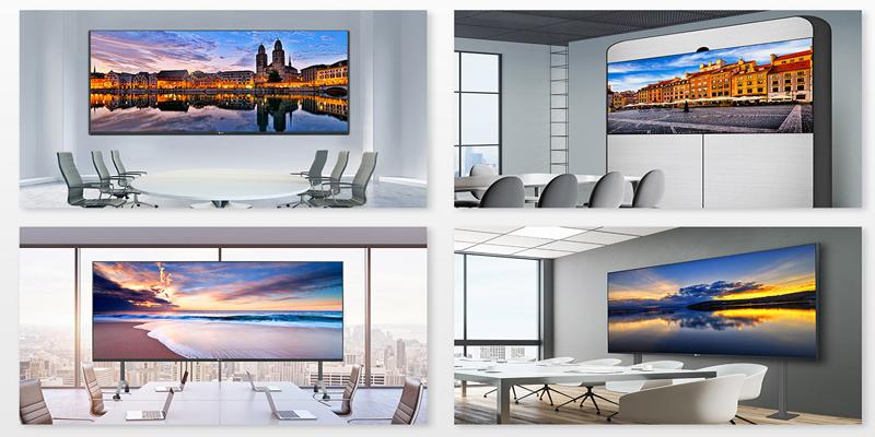 màn hình led phòng họp cho không gian sang trọng, hiện đại hơn