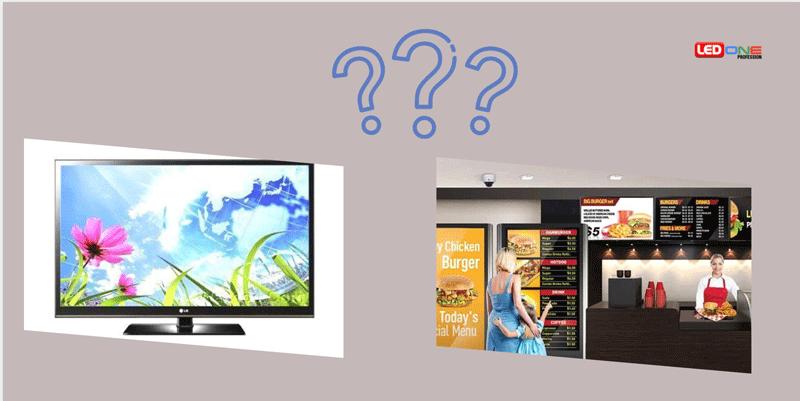 Có nên thay màn hình Tivi bằng màn hình quảng cáo kỹ thuật số?
