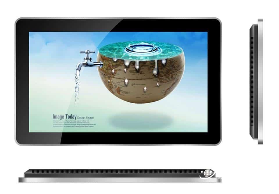 Màn hình quảng cáo Samsung thiết kế viền siêu mỏng