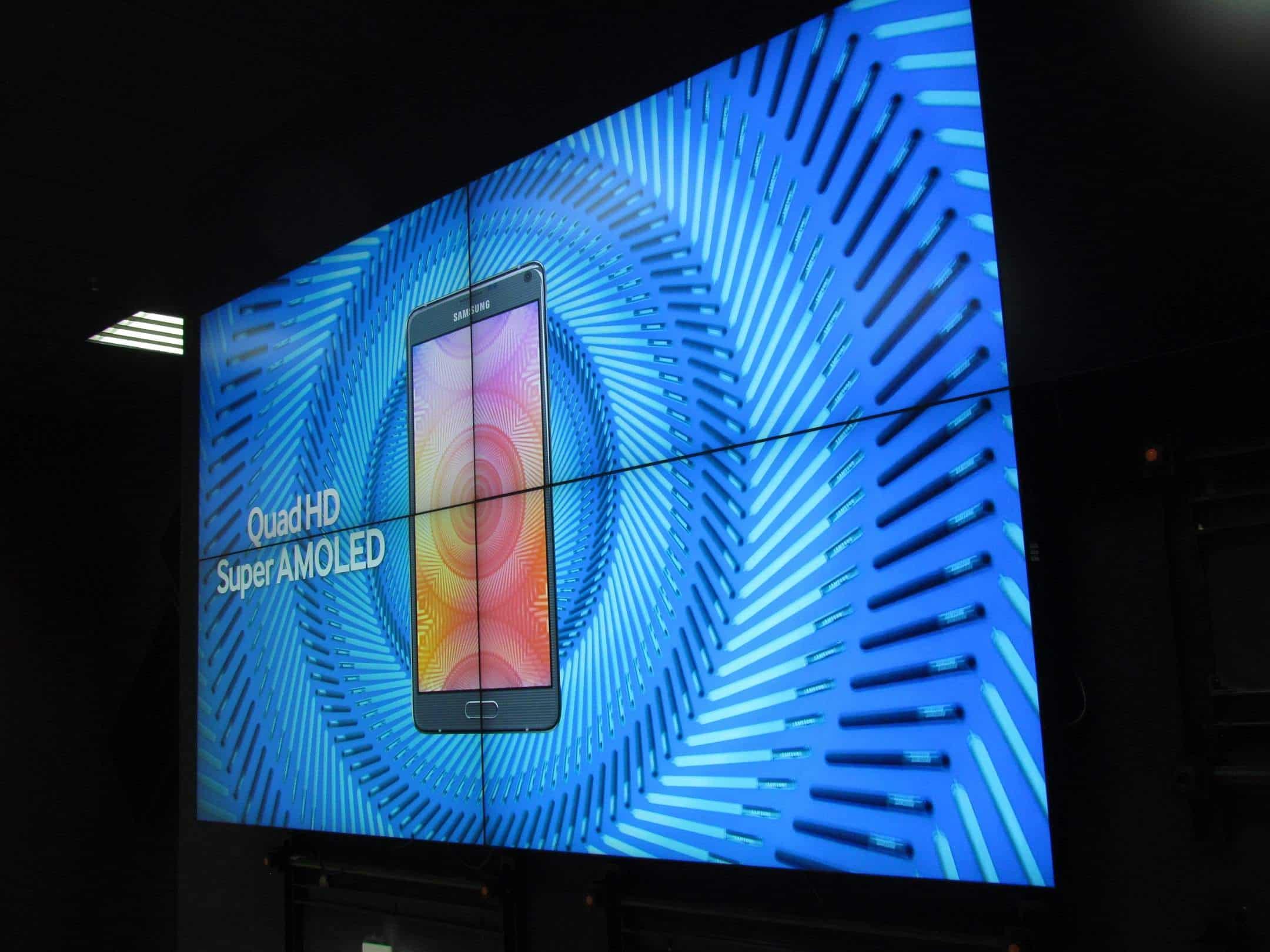 Màn hình ghép quảng cáo Samsung
