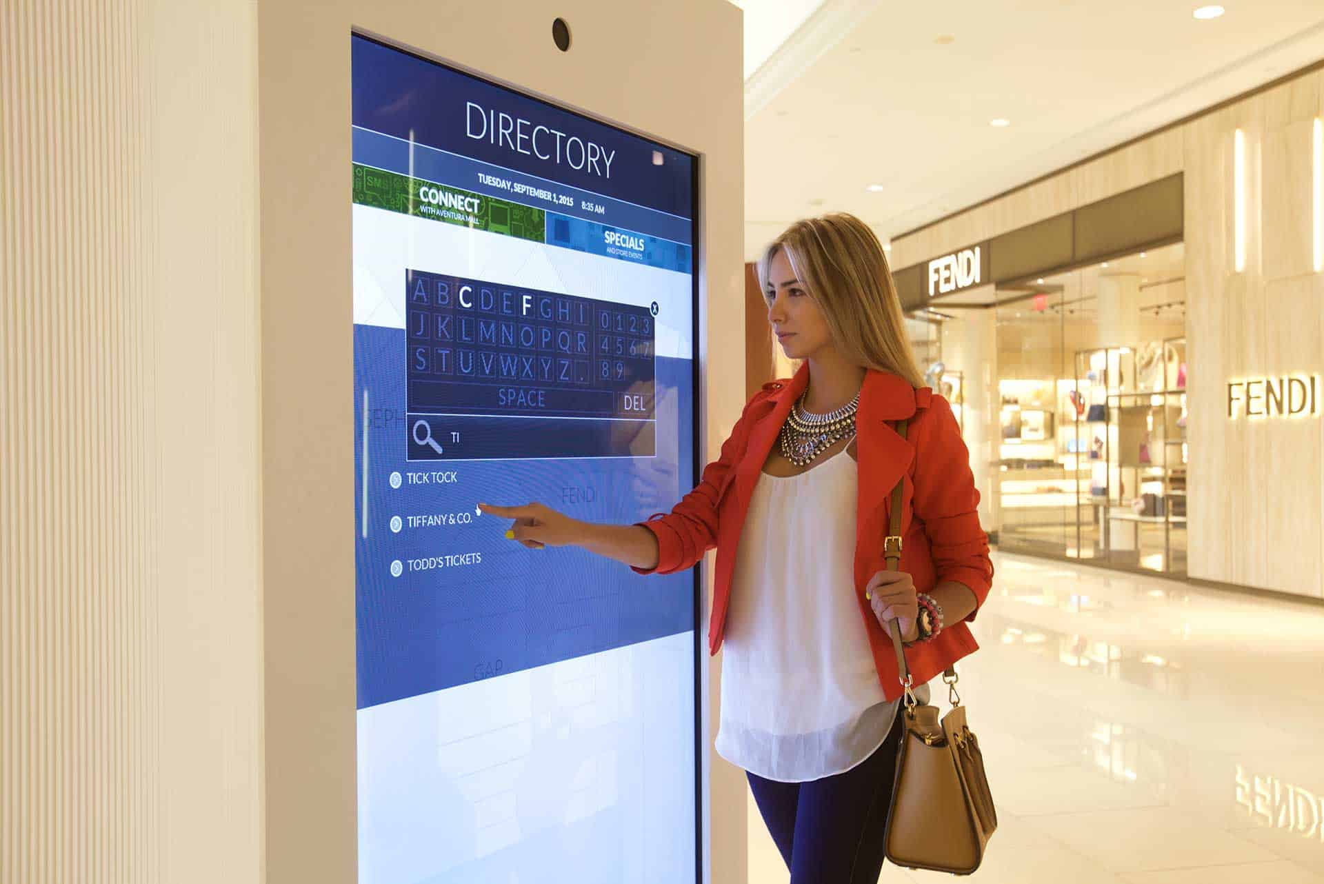Màn hình quảng cáo cảm ứng Samsung