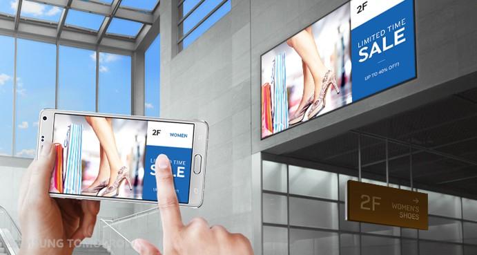 Màn hình quảng cáo có thể điều khiển từ xa