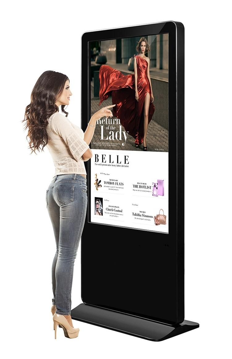 Màn hình quảng cáo tương tác chân đứng