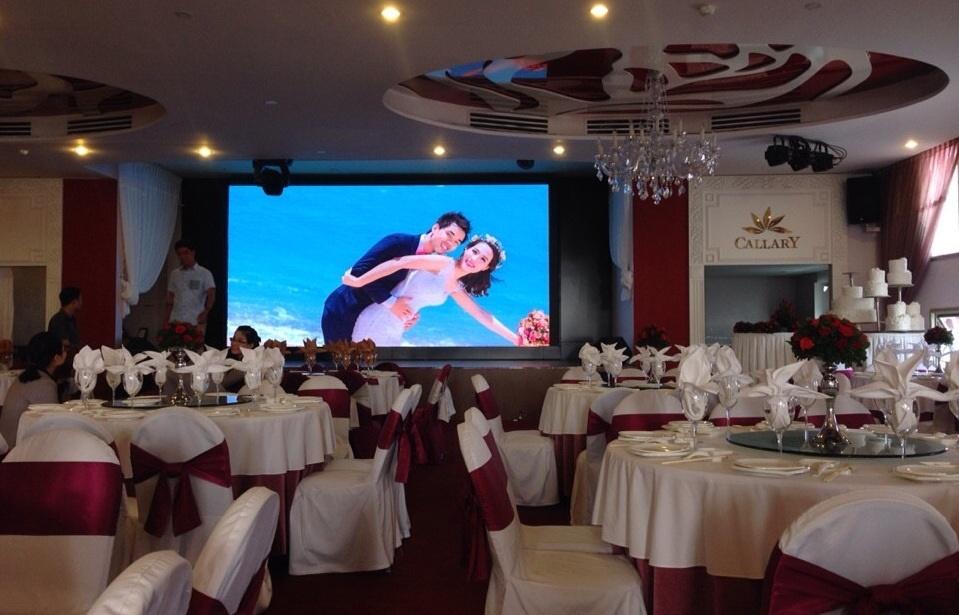 màn hình led cho đám cưới