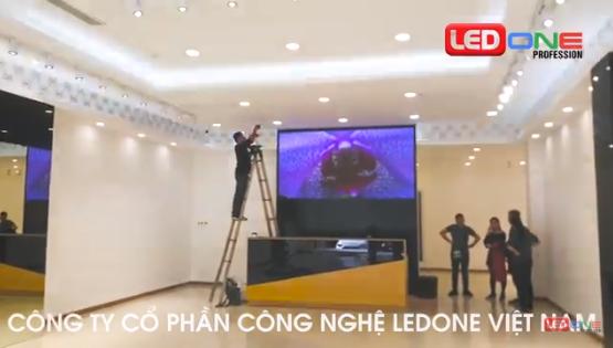 Thi công màn hình LED fullcolor P2.5 trong nhà tại Nem Hải Phòng