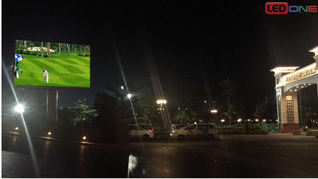 Thi công màn hình LED P3.91 ngoài trời