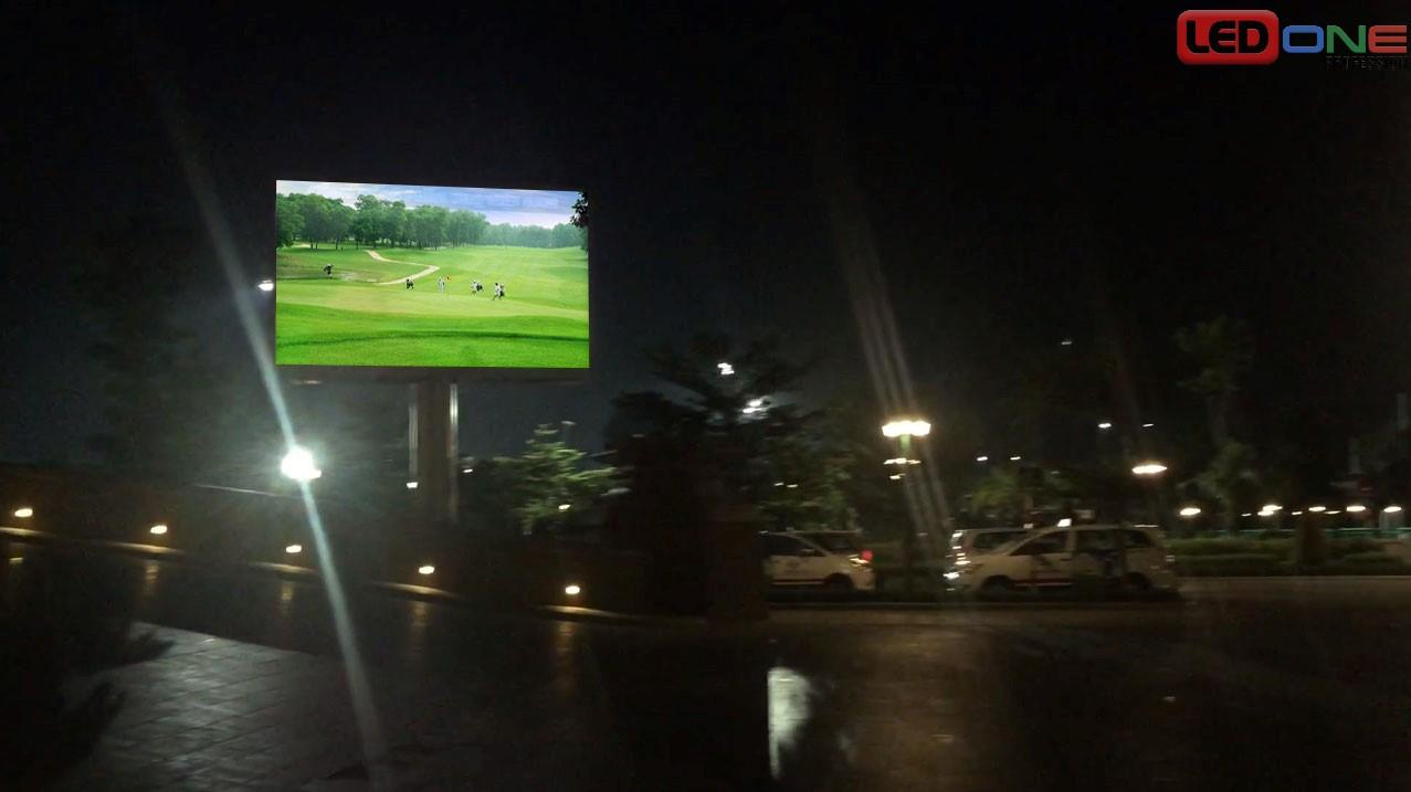 Thi công màn hình LED P3.91 ngoài trời tại sân Golf Tân Sơn Nhất hoạt động ổn định dưới mọi tác động của thời tiết