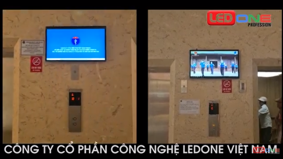 Thi công màn hình quảng cáo treo tường 32″ tại căn hộ Osimi Phú Mỹ – Vũng Tàu