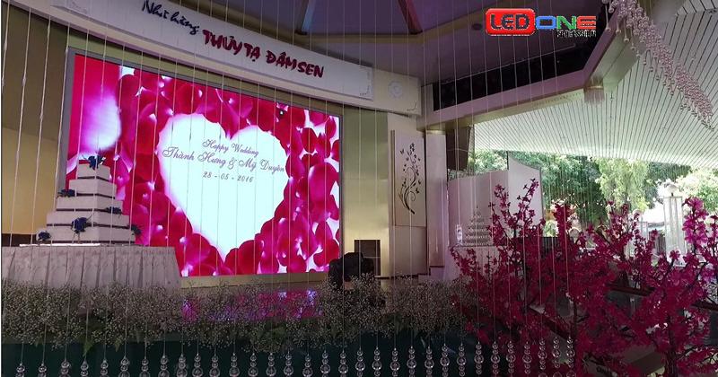 Tại sao nên thuê màn hình LED tiệc cưới