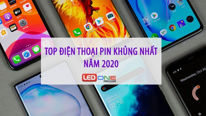 những chiếc điện thoại pin khủng năm 2020