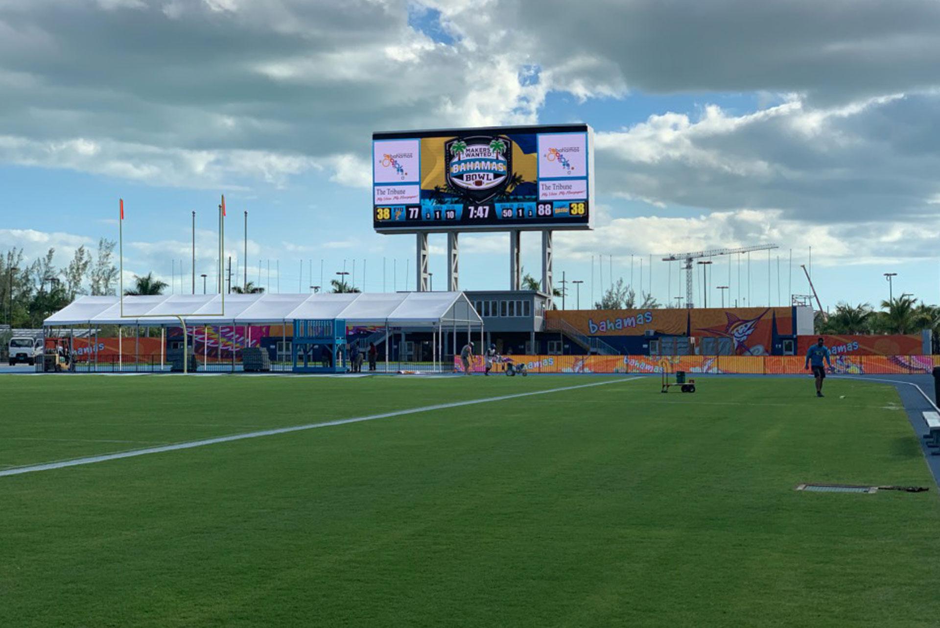 Màn hình LED sân vận động